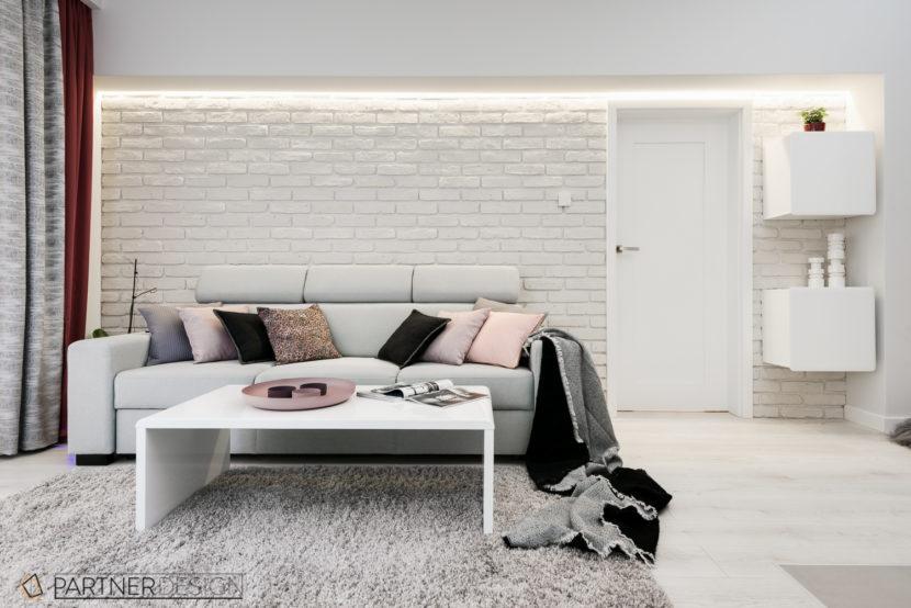 Mieszkanie All in white wykończenie pod klucz